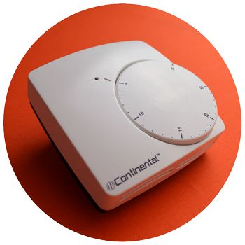 Underfloor heating controls: HeatMax™ dial thermostat
