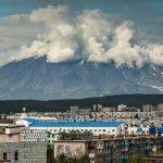 Scenic views of Petropavlovsk-Kamchatsky