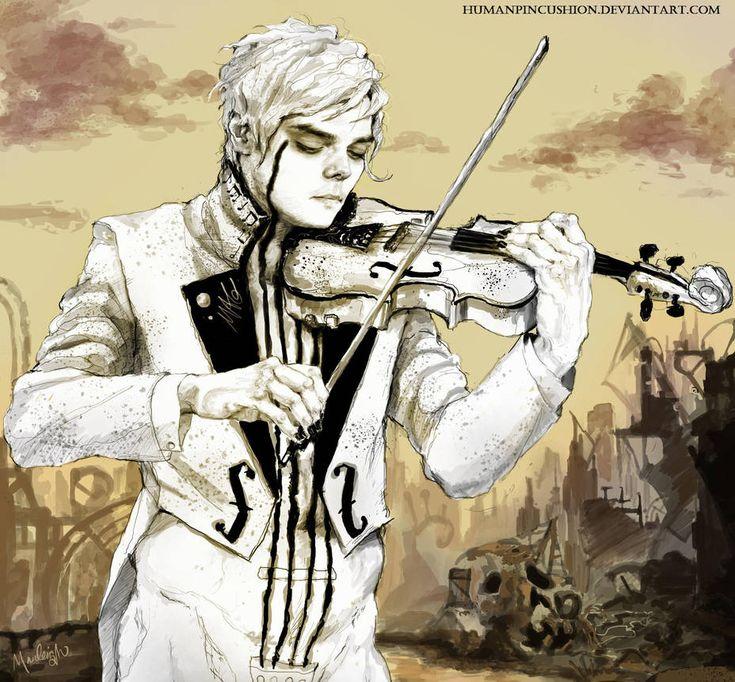 The White Violin by www.deviantart.co… on @DeviantArt