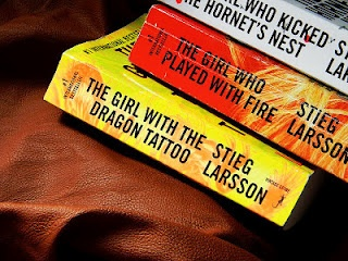 The Girl With The Dragon Tattoo series by Stieg Larsson
