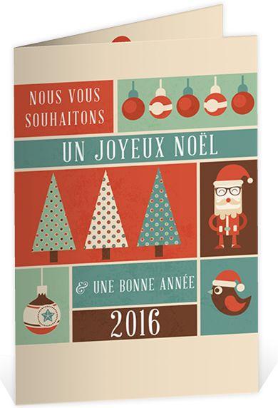 Carte de voeux originale et chaleureuse pour souhaiter un joyeux Noël et une bonne année à tout ceux que vous aimez, ref N401392