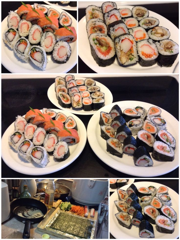 Homemade Sushi Part IV