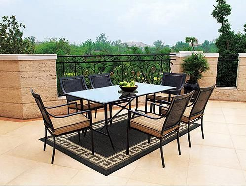 Patio Dining Sets: Braddock Heights Patio Dining Set From Our Great  Selection Of Patio Furniture Sets.