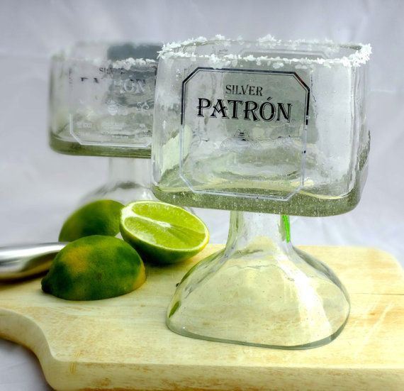 SALE TODAY ONLY Patron Tequila Bottle Margarita by Rehabulous