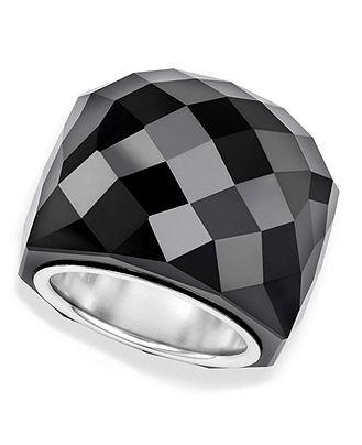 Swarovski Ring, Jet Nirvana Ring - Fashion Jewelry - Jewelry & Watches - Macy's
