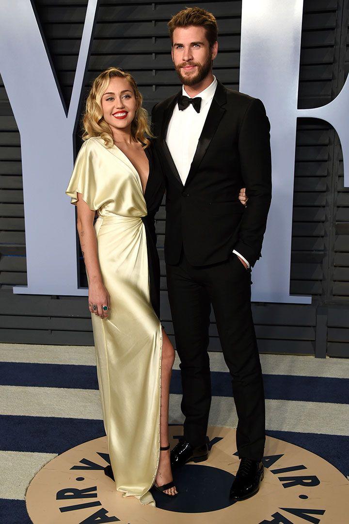 After Oscars 2018: Fiesta Vanity Fair - Miley Cyrus y Liam Hermsworth