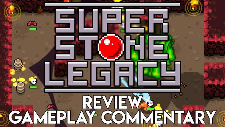Super Stone Legacy Review/Gameplay Commentary   Indie Action Adventure RPG