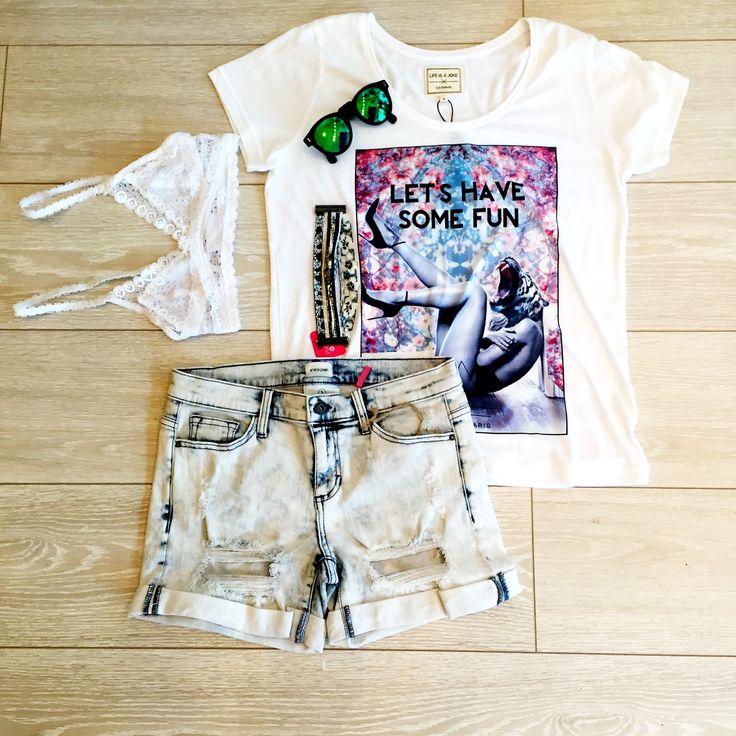 Ciara Boyfriend Jeans Short