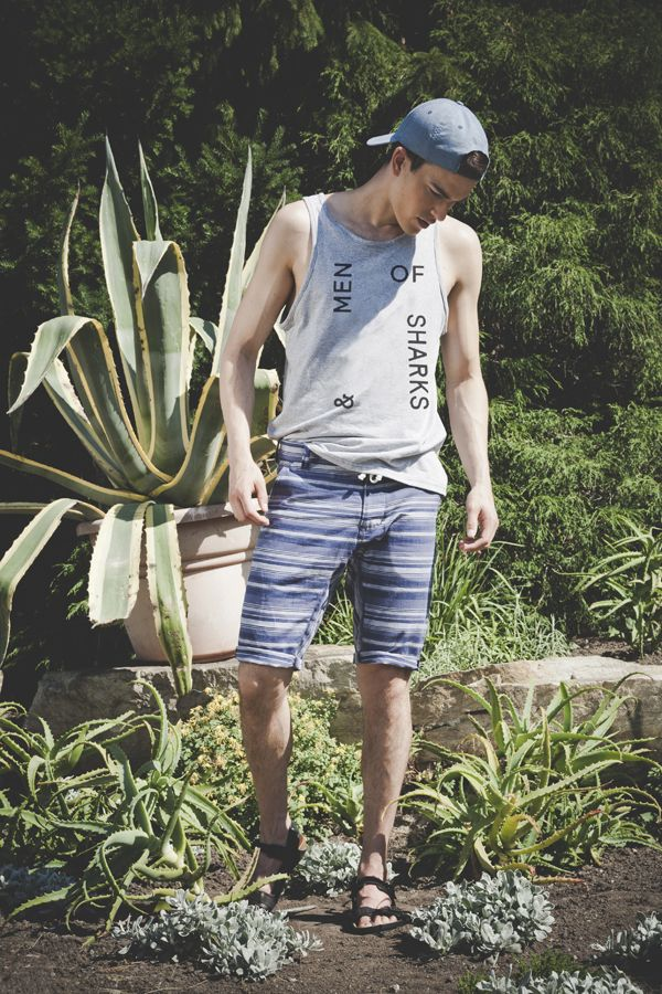 Of sharks and Men SS2015 Owen printed camisole,  Logan shorts