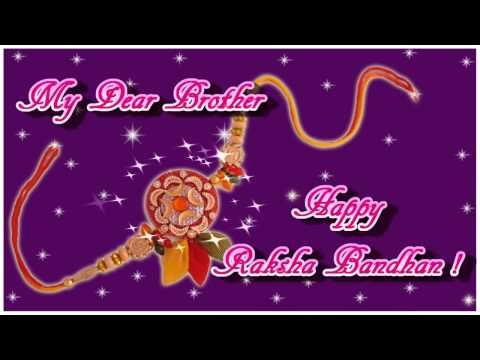 Free Happy Raksha Bandhan / Rakhi Greeting Card, Ecards 2012 - YouTube