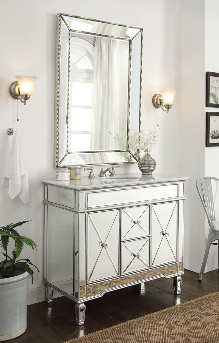1000 ideas about bathroom vanity mirrors on 16962