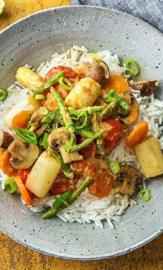 Die besten 25+ Vegetarisches curry Ideen auf Pinterest Kokos