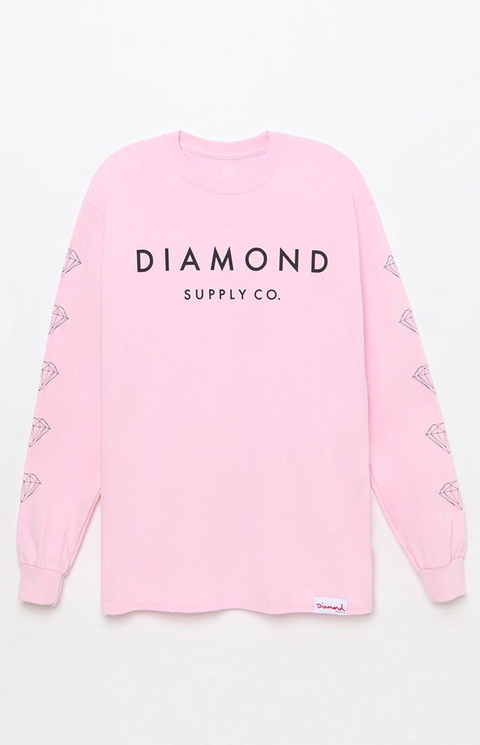 25e78b400 Diamond Supply Co Stone Cut Long Sleeve T-Shirt at PacSun.com ...