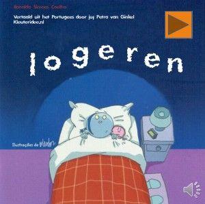 Digiboek logeren, kleuteridee.nl, voor kleuters, vertaald door juf Petra