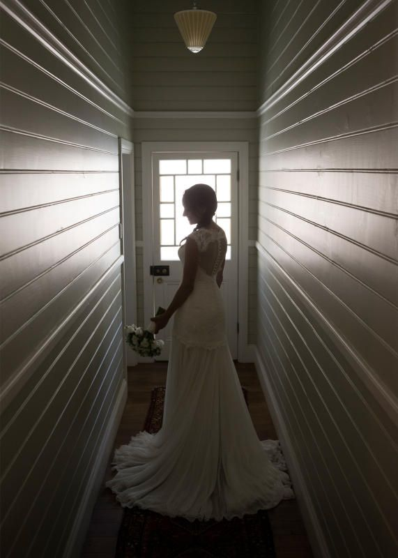 """Mariana Hardwick """"Milia"""" made to measure gown REAL BRIDE"""