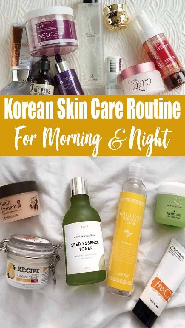 Best Deal Korean Skincare Routine Acne Prone Skin In 2020 Korean Skincare Routine Skin Care Routine Korean Skincare