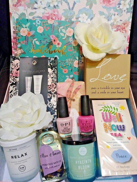 Gift Set For Women Care Package Box Her Easter Birthday Holiday Surprise