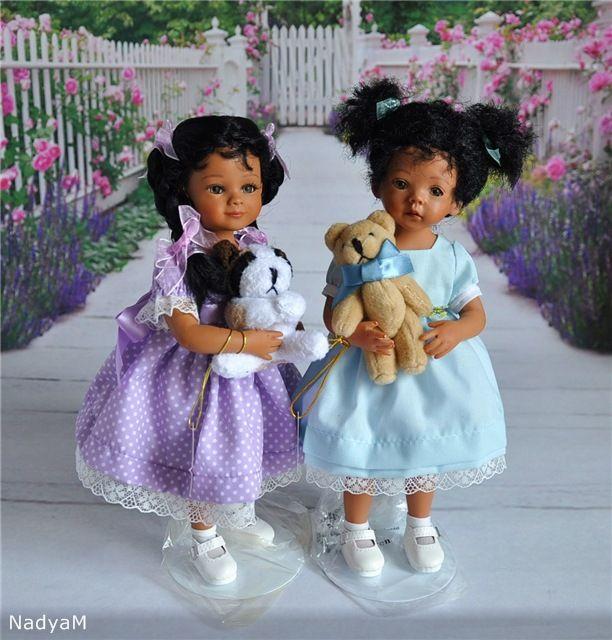 """Малышка Джада (JADA) со своим мишкой от автора Mayra Garza из серии """"Мой друг навсегда"""" / Коллекционные куклы (винил) / Шопик. Продать купить куклу / Бэйбики. Куклы фото. Одежда для кукол"""