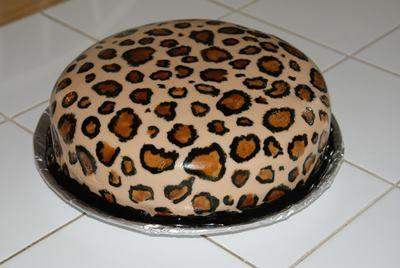 Cheetah Birthday Cake Ideas