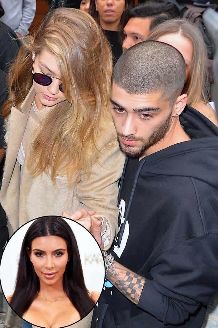 Zayn Malik in Paris to Protect Gigi Hadid After Kim K Incident