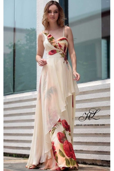 Floor length Sweatheart Picture color Chiffon A-line Barcelona30647  http://www.mydresspro.co.uk/188-barcelona2012-new