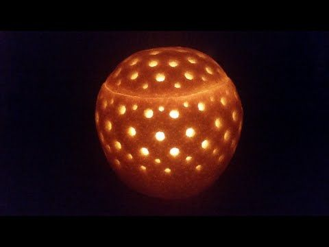 How to make Orange CANDLE