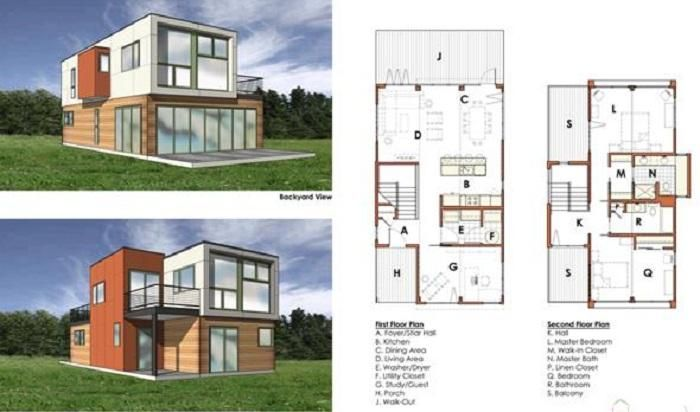 West coast green 2008 to highlight emerging green building technologies 2 design interiors - Shipping container home design software ...