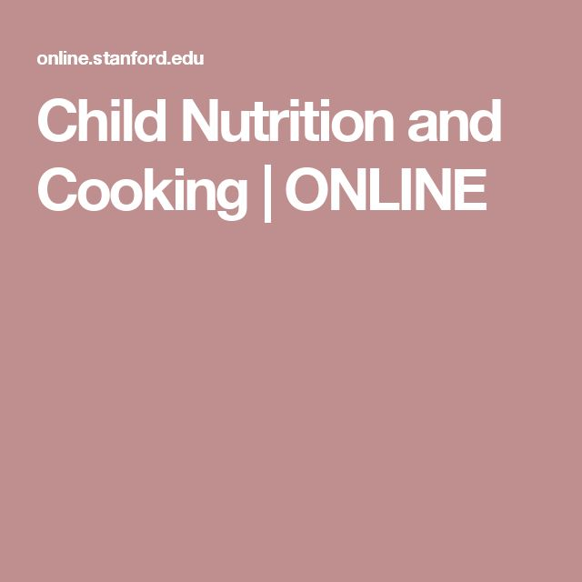 Child Nutrition and Cooking | ONLINE #childnutrition,