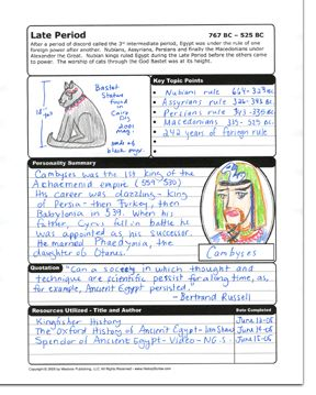 The History Scribe and Scribe System Printable Resource for Homeschool Families - Bible, Geography and Boy Topics such as Science and Invention, as well as Military Studies! Great for notebooking as well as unit studies. From Westvon Publishing.