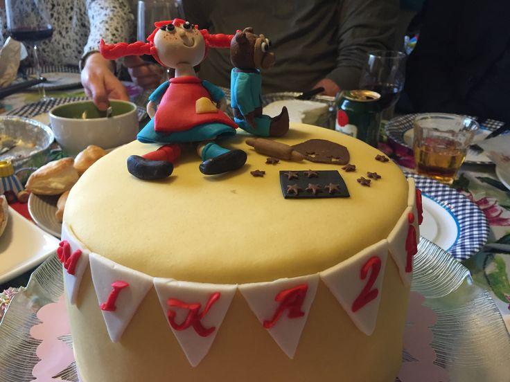 Pippi Långstrump cake