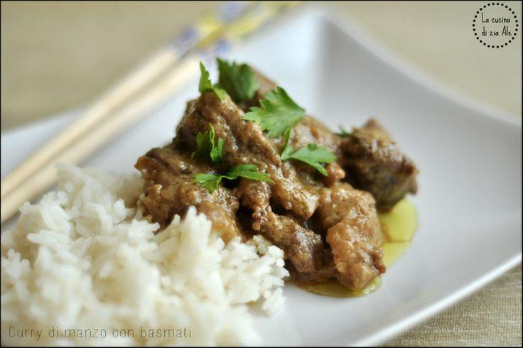 La cucina di zia Ale > Curry di manzo con basmati
