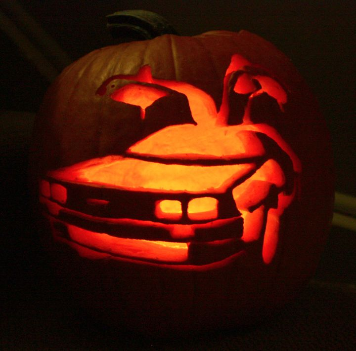 17 best images about pumpkin carving ideas on pinterest for Boo pumpkin ideas