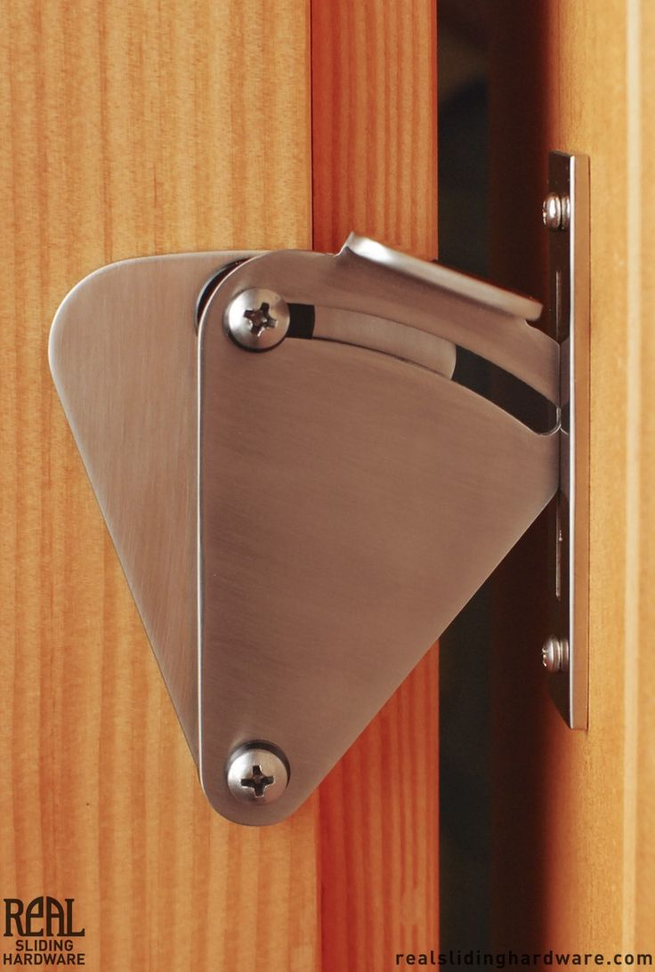 Teardrop Privacy Lock for Sliding Doors | Real Sliding Hardware