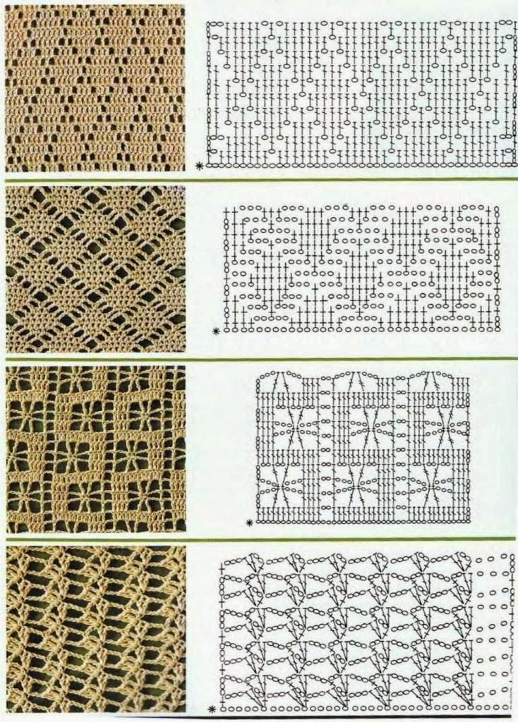 969 mejores imágenes sobre crochet tricot en Pinterest | Ficha de ...