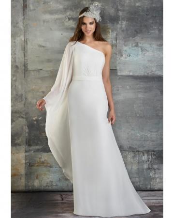 {Bari Jay wedding gown}