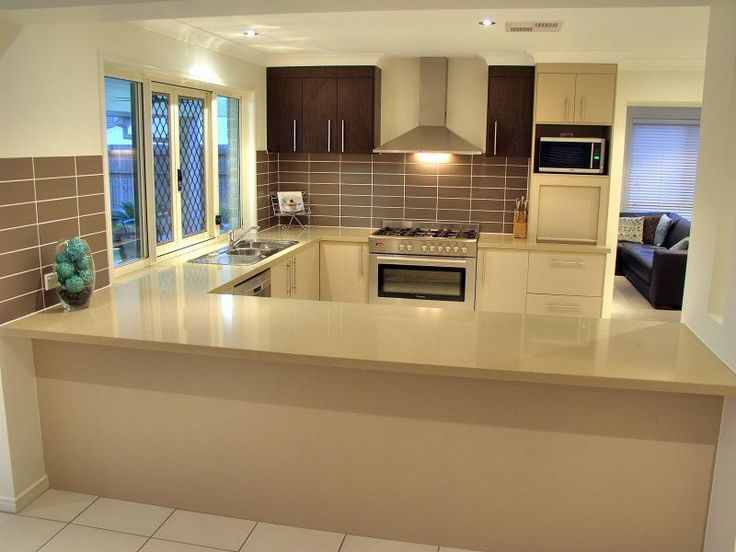 Find This Pin And More On Kitchen Ideas Modern L Shaped Kitchen Design