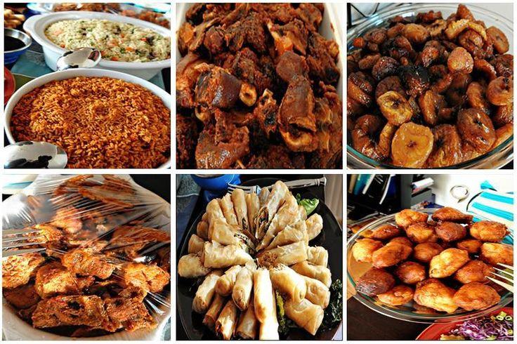 Nigeria Food   ... nigeria white rice nigerian beans plantain ogbono soup what do