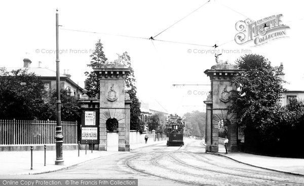 Southampton, The Stag Gates 1908, from Francis Frith