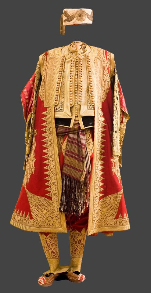 Albanian Traditional Men's Costume, 19th century..