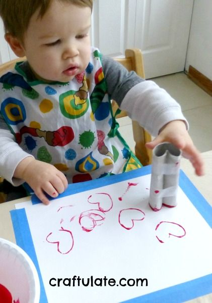 7 ways your little ones can spread their love this Valentines Day- toddler crafts