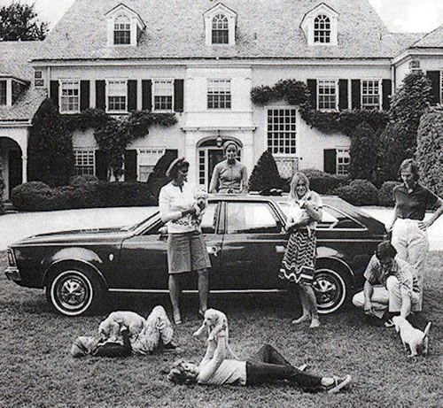 "Grosse Pointe Farms    1970  from the Slim Aarons book, ""A Wonderful Time."""