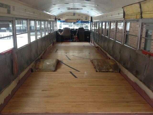 Bus remodel