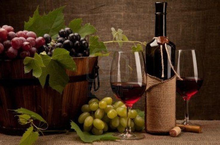 bodegón de vino