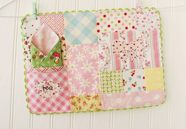 Quilted placemat by nanaCompany.