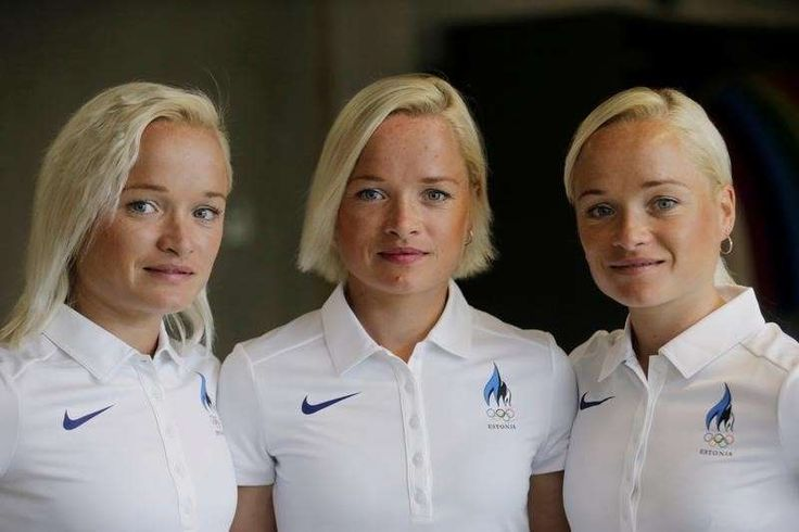 Athletics: Go sisters! Twins and triplets to run in Rio marathon  -  August 12, 2016  -        Estonia's olympic team female marathon runners Luik triplets pose for a picture in Tartu, Estonia