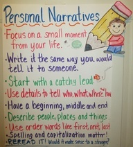 Personal Narrative Chart