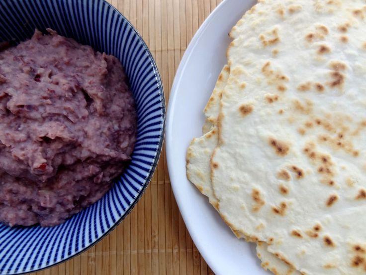 Tortillas et pur e de haricots rouges honduras cuisiner pour la paix pur e haricot et - Cuisiner des betteraves rouges ...