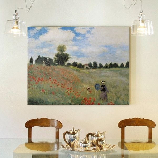 large canvas print of