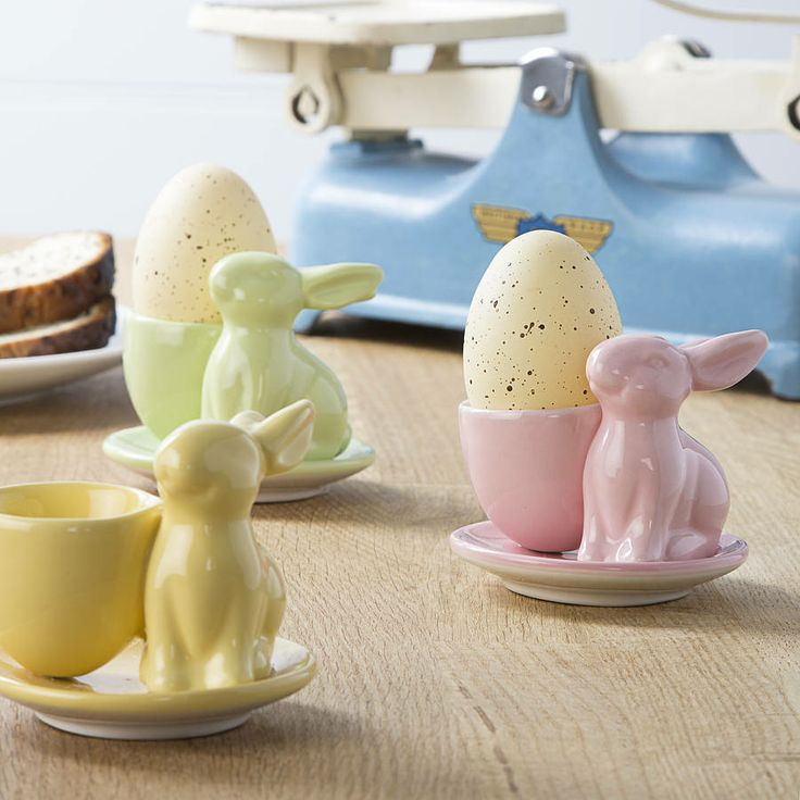 44 best easter egg alternatives images on pinterest egg bring a bit of easter cheer to your breakfast table with this pastel bunny egg cup its a great easter gift that can also be used every time you fancy a negle Choice Image
