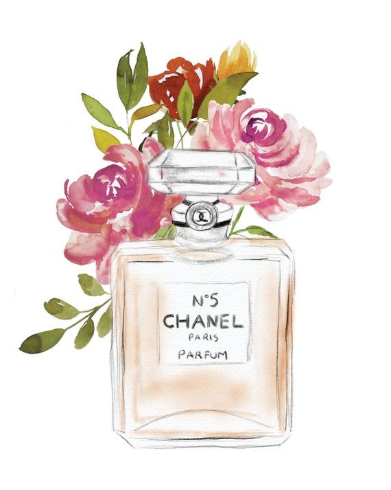 Instant Download Chanel Bottle Coco Chanel No 5 Etsy In 2021 Fashion Wall Art Printables Printable Wall Art Bedroom Free Printable Wall Art